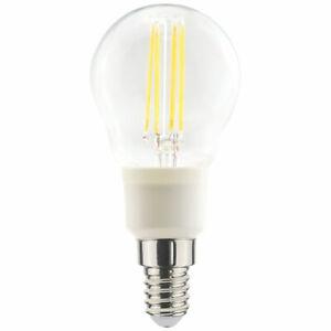 2 X LAP SES Mini Globe LED Light Bulb 470lm 4.5W
