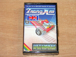 MINT & SEALED !! Sinclair ZX Spectrum - Trans Am by Ultimate Play The Game/Tranz