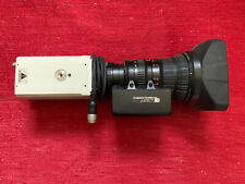 SONY EXWAVE HAD DSP 3CCD COLOR VIDEO CAMERA W/ Fujinon S17 X 6.6BMD D-18 Lens