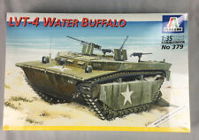 Italeri 1:35 LVT-4 Water Buffalo WWII US Armored Amphibious Tractor NEW
