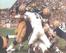 DICK BUTKUS 8X10 PHOTO CHICAGO BEARS PICTURE NFL FOOTBALL VS PACKERS