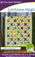 LeMoyne Magic - Cozy Quilt Designs Quilt Pattern