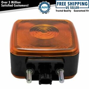 OEM 15148648 Hood Mounted Driver or Passenger Side Turn Signal Lamp for GM Truck