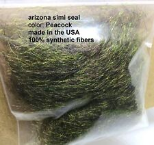 PEACOCK Arizona Simi Seal Dubbing fly tying leeches & streamers & buggy nymphs