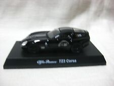 1:64 Kyosho Alfa Romeo TZ3 Corsa Black Diecast Model Car