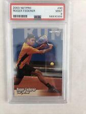 2003 Netpro Tennis #90 Roger Federer RC Rookie PSA 9 MINT