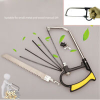 7PCS Multifunctional Mini saw woodworking wire manual devil s Hacksaw Hand Tool