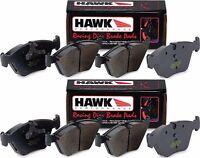 HAWK HP+ FRONT AND REAR HP PLUS BRAKE PADS FOR SUBARU STI / MITSUBISHI EVO 8 9