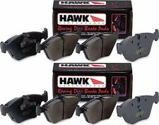 HAWK HP PLUS 2013-2018 FORD FOCUS ST FRONT AND REAR RACING BRAKE PADS HP+
