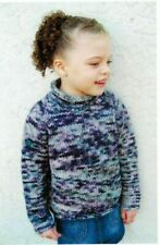 New ListingKnitting Pattern by Knitting Pure & Simple Children's Bulky Top Down Pullover