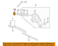 KIA OEM Sedona Wiper Washer-Liftgate Tailgate Hatch-Wiper Motor Cover 987124D000