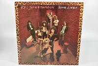 REO Speedwagon Nine Lives 1979 Epic Records 33 RPM Vinyl Record Album LP