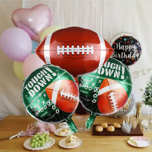 18 Inch Rugby Shaped Foil Balloons Self-inflating Birthday Party Decoration