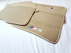 Floor mats bmw e30 m3 beige