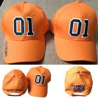 General Lee 01 Orange Embroidered Hat Good OL' Boy Dukes Baseball Caps