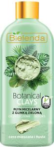 Bielenda Botanical Clays Vegan Micellar Liquid Oily Skin With Green Clay 500ml