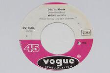 "Regine & Boy-Hey Boy Hey Girl/la classe è - 7"" 45 Vogue Records"