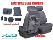 COVERKING TACTICAL MOLLE CHARCOAL CUSTOM FIT SEAT COVERS for TOYOTA TUNDRA