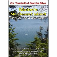 MT Desert Island Acadia Nat Park Maine Cycling Scenery DVD Virtual Bike Ride