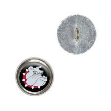 Bulldog Dog - Metal Craft Sewing Novelty Buttons Set of 4