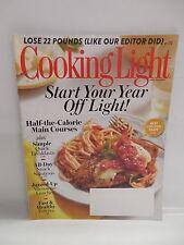 Cooking Light Magazine Jan. Feb. 2014 Half Calorie Main Course Recipes Breakfast
