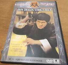 IRON DRAGON STRIKES BACK DVD BRUCE LI KUNG FU THEATRE VGC PAL