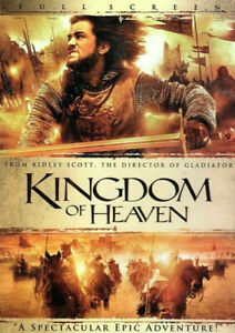 Kingdom Of Heaven DVD - FULL SCREEN (2 DISC EDITION) SAME / NEXT DAY POST