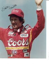 Autographed Bill Elliott NASCAR Auto Racing Photograph