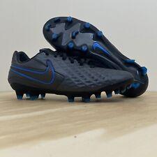 New listing Nike Tiempo Legend 8 Pro FG Black Blue Soccer Cleats Men's Size 7