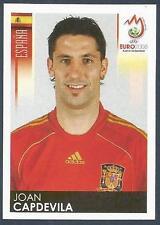 PANINI EURO 2008- #421-ESPANA-SPAIN-JOAN CAPDEVILA