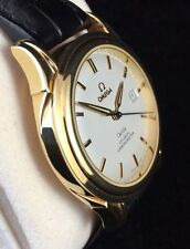 Men's Solid Gold Case OMEGA Wristwatches