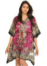 Casual Short Kaftan Dress Maxi One Size Women Caftan Dress Gown Top Night Dress