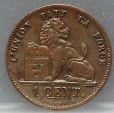 Belgie - Belgium 1 centime 1862 - KM# 1.2 - nice
