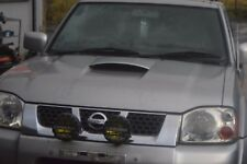 NISSAN NAVARA D22 BONNET COMPLETE WITH SCOOP - CHROME SILVER (KY0)
