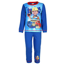 Bob The Builder Official Gift Baby Toddler Boys Pyjamas 18-24 Months Red 26876