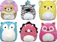 """Squishmallows KELLYTOY 2019 Easter Squad 5"""" Plush 6 Pack - Retired RARE! NWT"""
