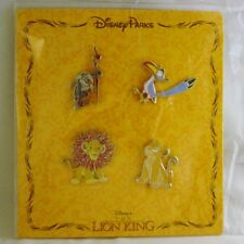 Disney Trading Pins LION KING Simba others  Sealed Booster Set of 4