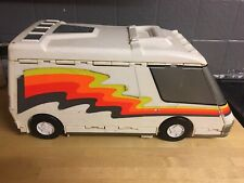 MICROMACHINES Camper Van  Mobile Home FOLD OUT PLAYSET / FOR CARS /GALOOB 1999
