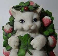 Charming Tails May Tomorrow Find You Rolling In Clover St Patrick's 4025968 Cat