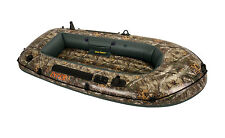 Intex Realtree Camo Seahawk 2 Inflatable Boat Fishing Raft with Rod Holders