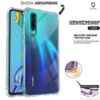 AntiScratch Shockproof Bumber Gel Case For Huawei P30 P20 Pro Lite Mate 20 Y9 Y7