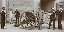 WW1 WWI FOTO UFFICIALE ARTIGLIERIA GRUPPO MIMA CARICAMENTO CANNONE