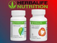 Herbalife Total Control  + Cell U Loss  90 Tablets New Sealed Weight Loss