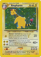 Ampharos Holo Pokemon Card Neo Revelation 1/64