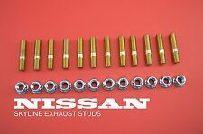 SKYLINE Exhaust Manifold Stud Kit RB20 RB25 Nissan Skyline R32 R33 R34 240SX