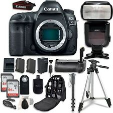 Canon EOS 5D Mark IV Digital SLR Camera Bundle (Body Only) + Accessories