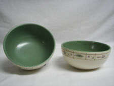 "TWO Pfaltzgraff Perennials Flower Garden Bowls Soup Cereal Salad 5-1/2 "" Rare"