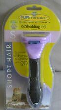 FURminator Professional deShedding Tool for Short Hair Cats