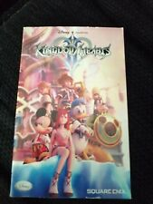Kingdom Hearts II (2) ~ Genuine MANUAL ONLY (PS2 SLES-54114) NO Game