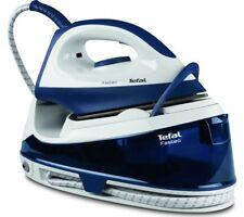 TEFAL Fasteo SV6040 Steam Generator Iron - Blue & White